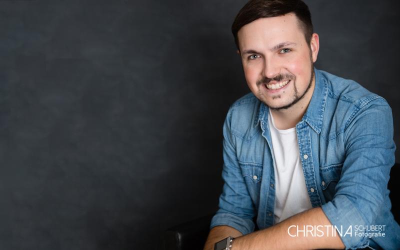 Männer-Portrait Fotoshooting / Fotografin Christina Schubert, Halle